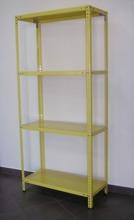 DOSTAWA GRATIS! 43364856 Regał metalowy magazynowy, 6 półek (wymiary: 3000x900x800mm, nośność półki: 100 kg)