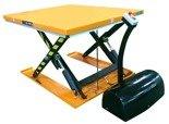 DOSTAWA GRATIS! 44366761 Elektryczny stół warsztatowy podnośny niskoprofilowy nożycowy (udźwig: 1000kg, wymiary platformy: 1450x1140 mm, wysokość podnoszenia min/max: 85-860 mm)