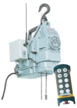 DOSTAWA GRATIS! 44929806 Przenośna wciągarka linowa silnikowa Tractel® Minifor TR30, sterowanie radiowe, 230V (udźwig: 300 kg)