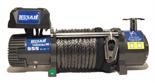DOSTAWA GRATIS! 51971653 Wyciągarka Husar z liną syntetyczną 12V (uźwig: 10000lbs / 4536 kg, długość liny: 28m)