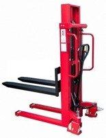 DOSTAWA GRATIS! 62666863 Wózek masztowy ręczny (udźwig: 1500kg, długość wideł: 1150mm, wysokość wideł min/max: 80/1600mm)