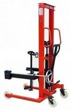 DOSTAWA GRATIS! 62666871 Wózek masztowy ręczny do beczek stalowych (udźwig: 350kg, zakres podnoszenia: 1425mm)