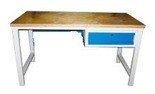 DOSTAWA GRATIS! 77156901 Stół warsztatowy, 1 szuflada (wymiary: 1500x750x900 mm)