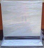 DOSTAWA GRATIS! 77157008 Regał perforowany pod zawieszki (wymiary: 2000x1000x500 mm)