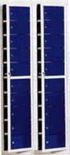 DOSTAWA GRATIS! 77157128 Szafa skrytkowa, 20 drzwi (wymiary: 2000x700x400 mm)