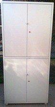 DOSTAWA GRATIS! 77157283 Szafa narzędziowa, 4 drzwi, 6 regulowanych półek (wymiary: 2000x900x450 mm)