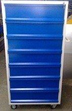 DOSTAWA GRATIS! 77157353 Wózek narzędziowy, 7 szuflad (wymiary: 1500x800x600 mm)