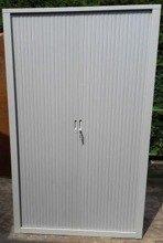 DOSTAWA GRATIS! 77170729 Szafa biurowa, drzwi żaluzjowe (wymiary: 2000x1200x400 mm)