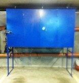 DOSTAWA GRATIS! 77170812 Szafa garażowa, box garażowy (wymiary: 2400x800x1400/2600 mm)