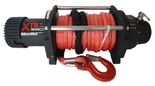 DOSTAWA GRATIS! 81874130 Wyciągarka XTR 13500lbs [6130kg] SPEED z liną syntetyczną szarą 24V (średnica liny: 10mm, długość liny: 25m)