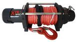 DOSTAWA GRATIS! 81874133 Wyciągarka XTR 13500lbs [6130kg] SPEED z liną syntetyczną w oplocie z dużym hakiem 12V (średnica liny: 10mm, długość liny: 25m)