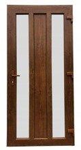Drzwi zewnętrzne wejściowe (kolor: złoty dąb, strona: lewa, szerokość: 100 cm) 26271900