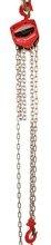 LIFERAIDA Wciągnik łańcuchowy ręczny (udźwig: 5,0 T, długość łańcucha: 3m) 03076086