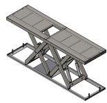 Podnośnik, podest nożycowy (udźwig: 5000 kg, wymiary platformy: 4000x2600mm, wysokość podnoszenia min/max: 300-1650 mm, moc: 3,5kW) 01876246