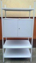 Regał metalowy, szafka, 3 półki (wymiary: 2000x900x600 mm) 77156809