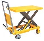 Stół podnośny nożycowy (udźwig: 300 kg, wymiary platformy: 855x500x50 mm, wysokość podnoszenia: 900 mm) 85068251