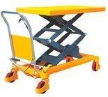 Stół podnośny nożycowy (udźwig: 350 kg, wymiary platformy: 910x500x50 mm, wysokość podnoszenia: 1300 mm) 85078783