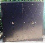Szafa gazowa ozdobna, bez pleców i dna (wymiary: 1500x1500x500 mm) 77157157