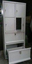Szafa skrytkowa, 4 drzwi, 2 szuflady 77157132