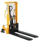 Sztaplarka ręczna, niski GermanTech (udźwig: 1000 kg, wysokość podnoszenia: 1m, długość wideł: 1150 mm) 99777146