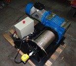 Tretos 28872831 Elektryczna wciągarka linowa bez ramki (siła uciągu: 850 kg, długość liny: 30m, moc: 3kW 400V)