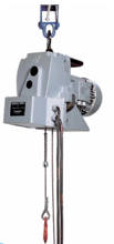 Tretos Wyciągarka elektryczna  z ręcznym wózkiem jezdnym na belce IPE200 400V (udźwig: 1000 kg, wysokość podnoszenia: 50m) 28876641