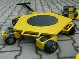 Wózek rotacyjny stały, rolki: 15x nylon (nośność: 5 T) 12258867