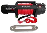Wyciągarka Escape EVO 12500 lbs [5670 kg] IP68 z liną syntetyczną 12V (lina: 10 mm w oplocie 28 m 10400 kg +hak) 81877752