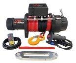 Wyciągarka XTR 17000lbs [7718 kg] z liną syntetyczną 12V (lina: 10 mm w oplocie z dużym hakiem 25m) 81877843
