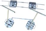 Zestaw transportowy, rolki poliamidowe (nośność: 10 T) 13340628