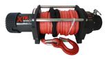 Wyciągarka XTR 13500lbs [6130kg] SPEED z liną syntetyczną 12V (lina: 10 mm w oplocie 28m 10400 kg +hak) 81877813
