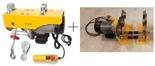 Begor Wyciągarka linowa elektryczna Industrial 500/990 230V, stare 1200 kg + wózek elektryczny 1T - szerokość belki dwuteownika do 220mm Bez UDT!!! 28868910