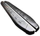 DOSTAWA GRATIS! 01655977 Stopnie boczne, czarne - Toyota Rav4 2006-2012 (długość: 161-167 cm)