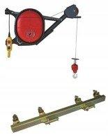 DOSTAWA GRATIS! 08172278 Wciągarka elektryczna linowa budowlana Minor Millennium 325 + Uchwyt do wciągarki linowej + sterowanie 1,5m (udźwig: 325 kg)