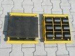 DOSTAWA GRATIS! 12267449 Zestaw wózków, rolki: 34x kompozyt (nośność: 58 T)
