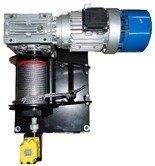DOSTAWA GRATIS! 28846320 Elektryczna wciągarka linowa (siła uciągu: 1100/1350 kg)