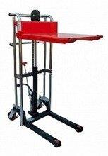 DOSTAWA GRATIS! 62666869 Wózek masztowy ręczny z platformą (udźwig: 400kg, max wysokość podnoszenia: 1200mm)