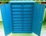 DOSTAWA GRATIS! 77157206 Szafka narzędziowa, 18 szuflad (wymiary: 1250x800x500 mm)