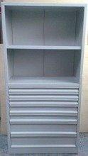 DOSTAWA GRATIS! 77157227 Regał narzędziowy, 7 szuflad, 2 półki (wymiary: 2000x970x500 mm)