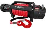 DOSTAWA GRATIS! 81874474 Wyciągarka Escape EVO 12500 lbs [5670 kg] IP68 z liną syntetyczną w oplocie z dużym hakiem 24V (średnica liny: 10mm, długość liny: 28m)