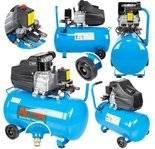 LETA Kompresor olejowy sprężarka (ciśnienie robocze: 8 Bar, pojemność zbiornika: 50 litrów, moc kW: 2.8kW) 21777656