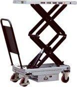 Ruchomy stół podnośny elektryczny (udźwig: 300 kg, wymiary platformy: 1010x520 mm, wysokość podnoszenia min/max: 495-1600 mm) 310567