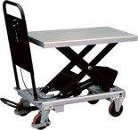 Ruchomy stół podnośny (udźwig: 500 kg, wymiary platformy: 1010x520 mm, wysokość podnoszenia min/max: 430-1000 mm) 310562