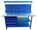 Stół warsztatowy, nadbudowa (wymiary: 1500x700x900/1600 mm) 77170644