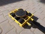 Wózek skrętny 6 rolkowy, rolki: 6x stal (nośność: 7 T) 12267430