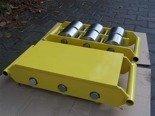 Wózek stały 6 rolkowy, rolki: 6x stal (nośność: 50 T) 12235595
