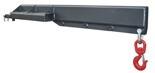 Wysięgnik z hakiem na widły (udźwig: 1500 kg, wysięg: 500mm) 5 położeń wysięgnika, minimalny udźwig 650 kg 29068924