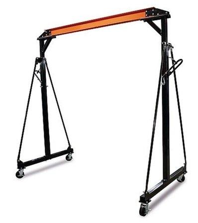 322+55970065 Suwnica bramowa, mobilny dźwig portalowy + wyciągarka linowa elektryczna z wózkiem (udźwig: 990/1000 kg)