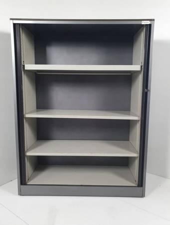 Box24 Szafa roletowa metalowa 3 półki (wymiary: 160x120x45 cm) 17676588