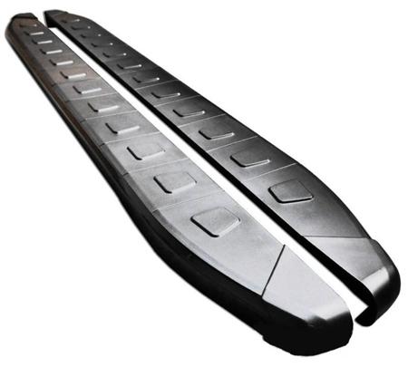 DOSTAWA GRATIS! 01655976 Stopnie boczne, czarne - Toyota Rav4 5D 2001-2006 (długość: 161 cm)